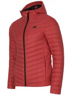 Men's down jacket KUMP301 - red