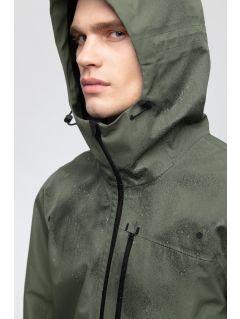 Men's trekking jacket KUMT250 - khaki