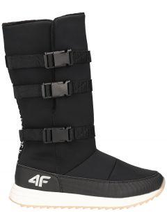 Women's snow boots OBDH200 - black