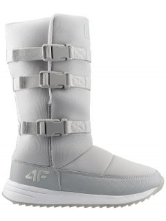 Women's snow boots OBDH200 - grey