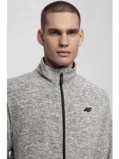 Men's fleece sweatshirt PLM300 - light grey melange