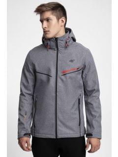 Men's softshell jacket SFM206 - grey melange
