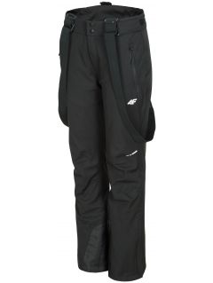 Women's ski pants SPDN300 - black