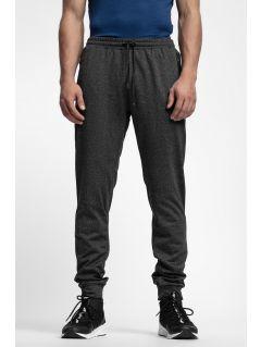 Men's sweatpants SPMD303 - black melange