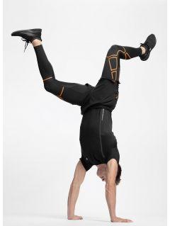 Men's running pants SPMF254 - black