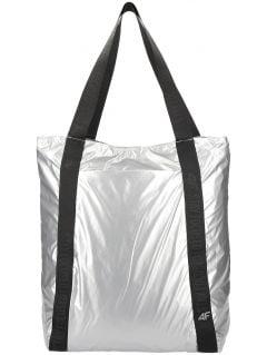 Women's shoulder bag TPU202 - silver