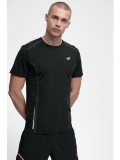 Men's active T-shirt TSMF216 - black