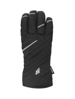 Men's ski gloves REM003 - black