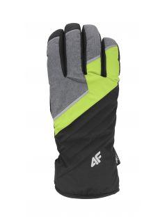 Men's ski gloves REM003 - fresh green