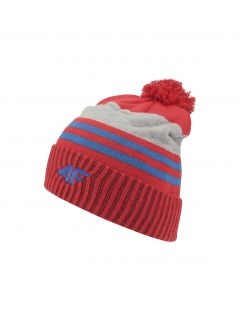 Hat for older children (boys) JCAM227 - red