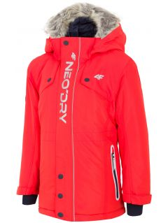 Urban jacket for younger children (boys) JKUM101 - red