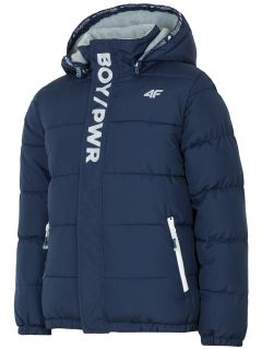 Urban jacket for older children (boys) JKUM203 - navy