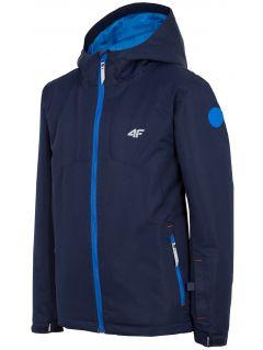 Ski jacket for older children (boys) JKUMN406 - navy