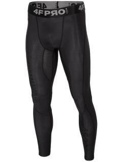 Men's compression pants  4FPro SPMF401A - claret