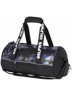 Duffel bag for older children (girls) JBAGD201 - black