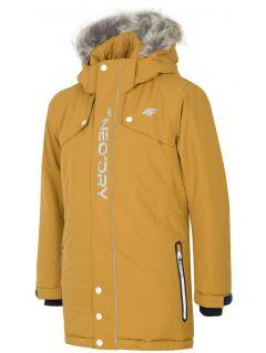 Urban jacket for older children (boys) JKUM201 - light brown