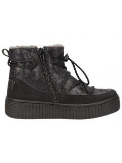 Autumn boots for older children (girls) JOBDA202 - black