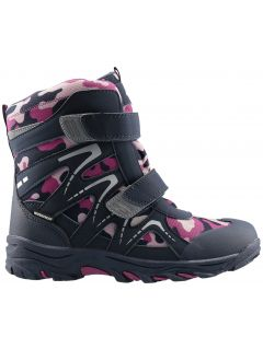 Winter boots for older children (girls)  JOBDW406 - dark violet