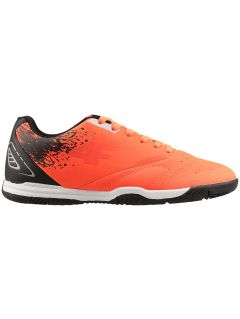 Indoor soccer shoes for older children (boys) JOBMP400H - neon orange