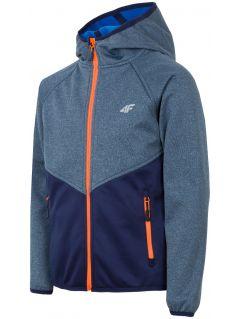 Softshell jacket for older children (boys) JSFM402 - navy