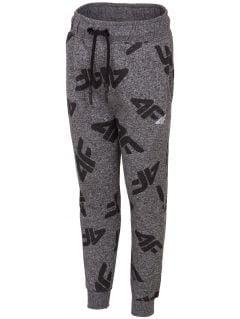 Sweatpants for younger children (boys) JSPMD103 - dark grey melange
