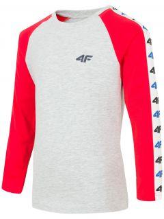 Long sleeve T-shirt for younger children (boys) JTSML106 - red