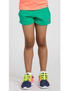Knit shorts for small girls JSKDD101 - multicolor