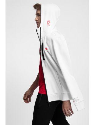 Men's hoodie BLM220 - white