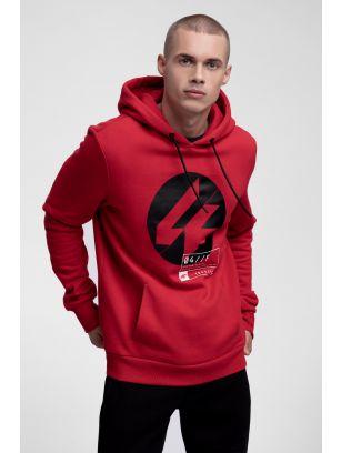 Men's hoodie BLM266 - red
