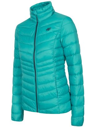 Women's down jacket KUDP210 - turquoise