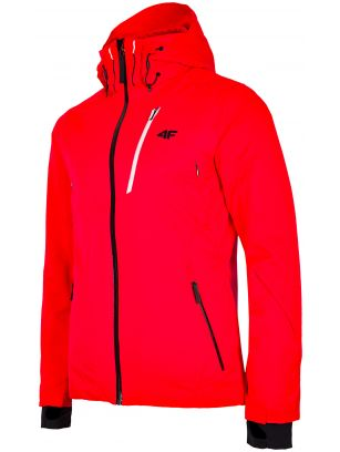 Men's ski jacket KUMN257 - neon red