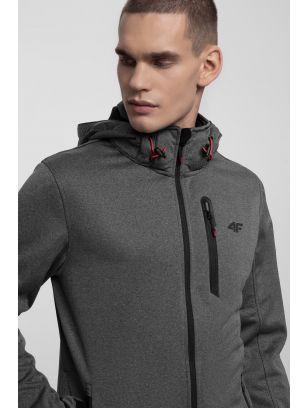 Men's softshell jacket SFM202 - anthracite melange