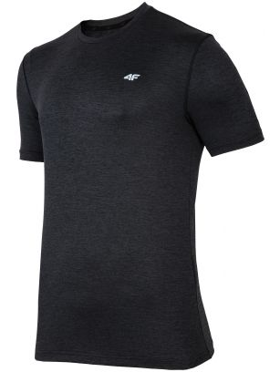Men's active T-shirt TSMF301 - black melange
