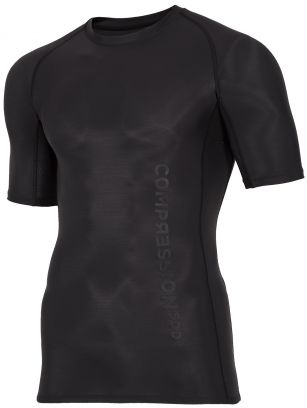 Men's compression T-shirt 4FPro TSMF400a -  black