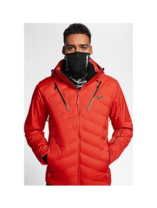 Men's ski jacket HQ Performance KUMN150 - red